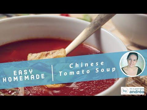 Chinese tomato soup {Dutch-style}