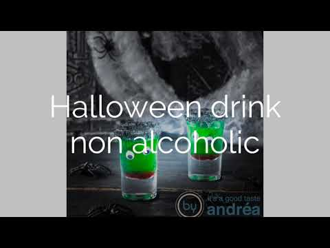 Halloween cocktail non alcoholic