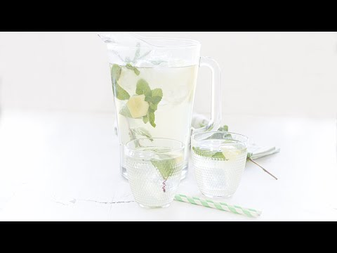 How to prepare the BEST homemade ginger iced tea you've ever tasted? | With just 5 ingredients
