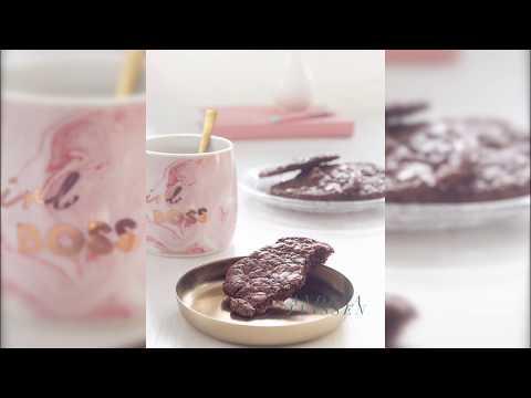 Brookies brownie cookies with walnuts