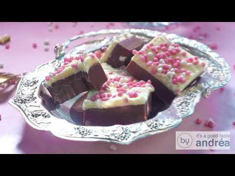 How to prepare the most DELICIOUS Baby shower Red velvet fudge (with sprinkles)