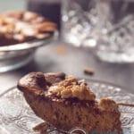 Honing pompoen taart met spelt bodem - honey pumpkin pie