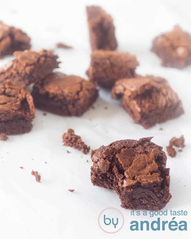 Smeuïge brownies met chocola