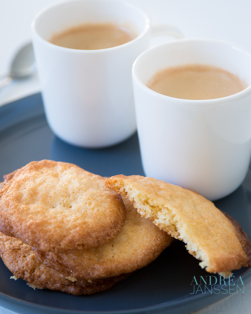 Easy to bake cookies with coffee