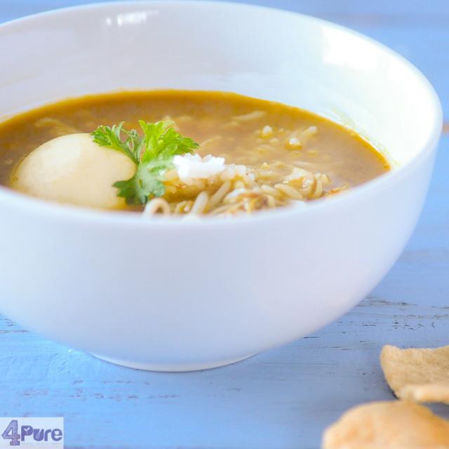 Oosterse kippensoep - oriental chicken soup