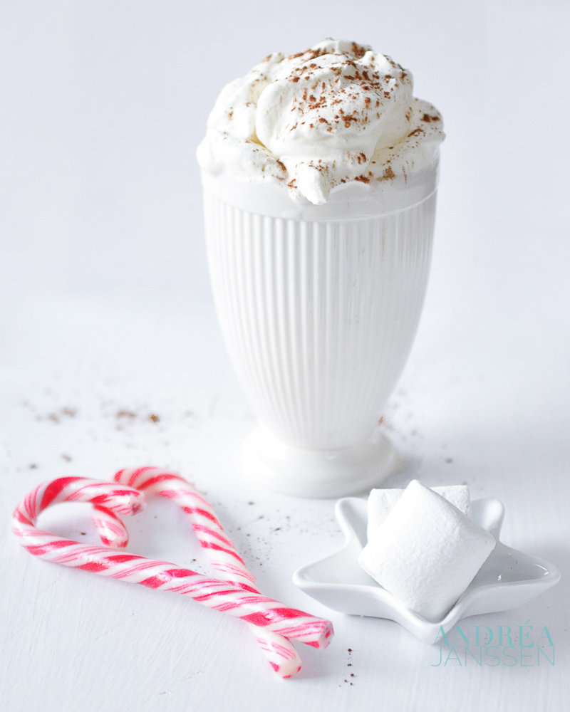 Witte chocolademelk - white chocolate milk