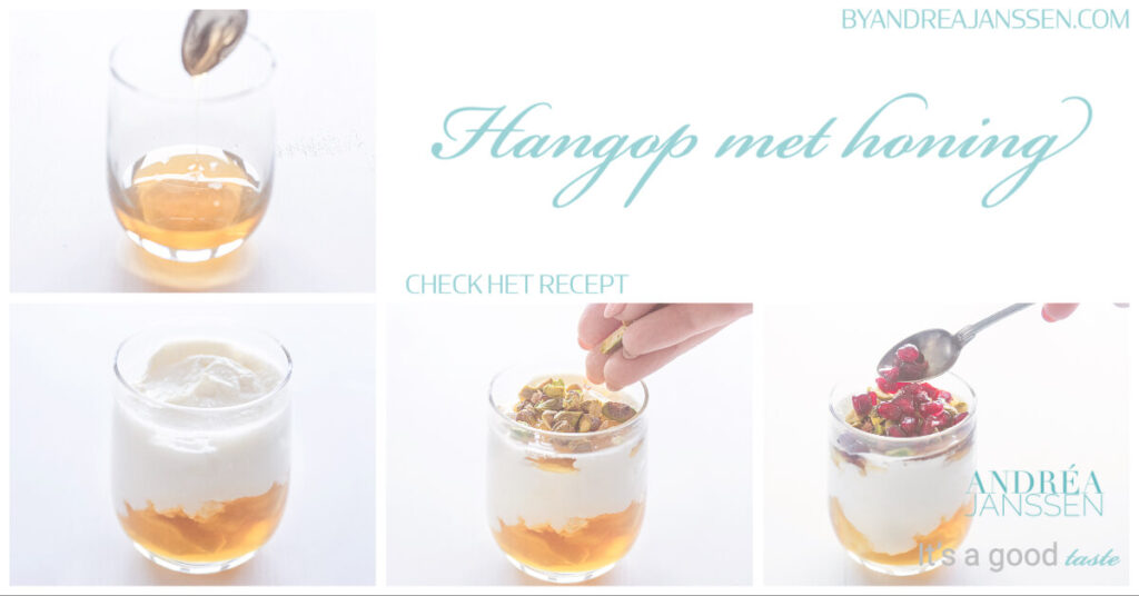 collage how to hangop met honing