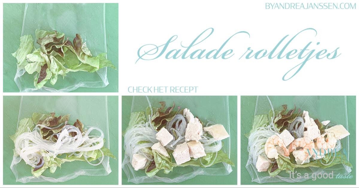 Salade rolletjes
