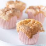 Zoete melk cupcakes