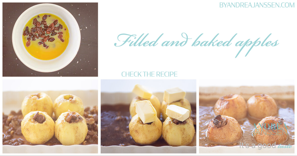 filled and baked apples