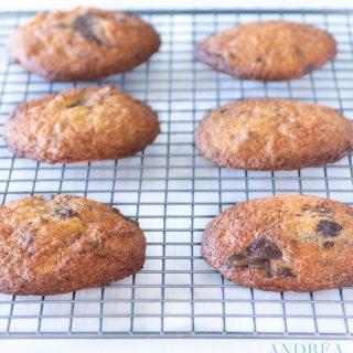 dubbel chocolade walnoot koekje