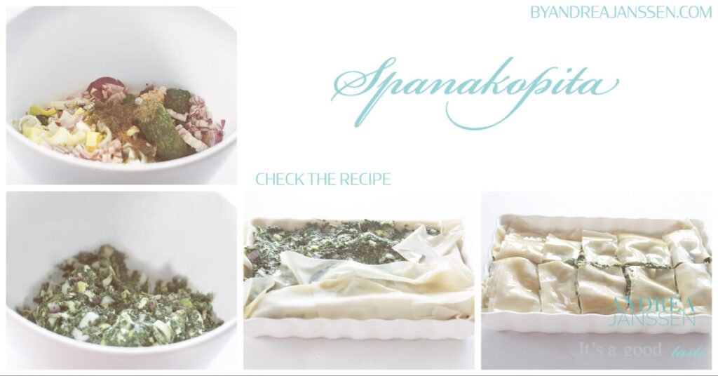 how to make greek spanakopita