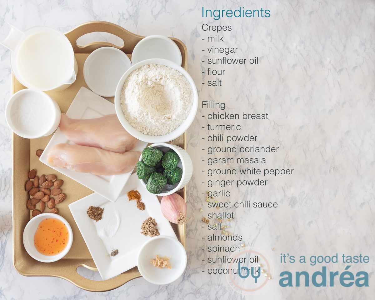 Ingredients chatti pathiri