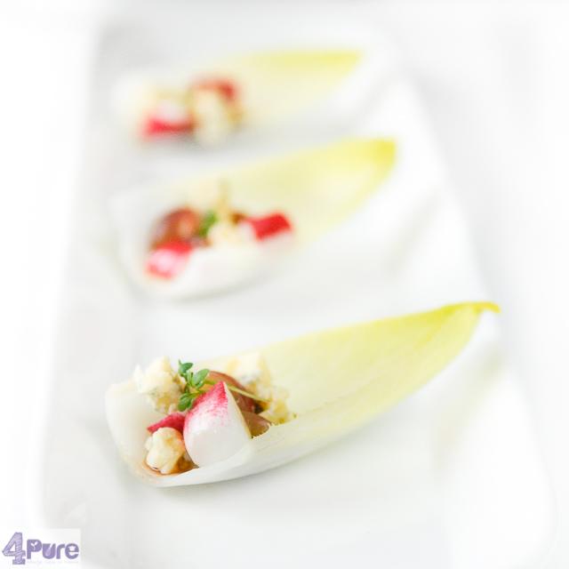 Witlof schuitjes - brussel endive appetizer