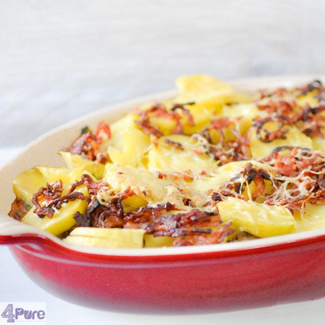 Andijvie aardappel ovenschotel - Endive potato casserole
