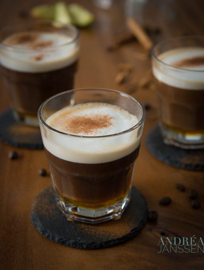 Cafe au lait de luxe
