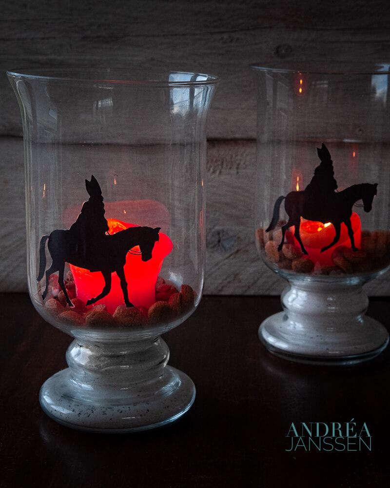 DIY- Sfeervol Sinterklaas licht
