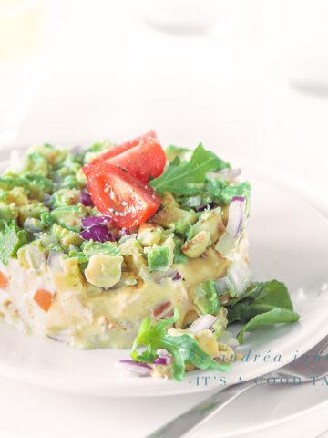 highlight Smoked chicken and avocado salad