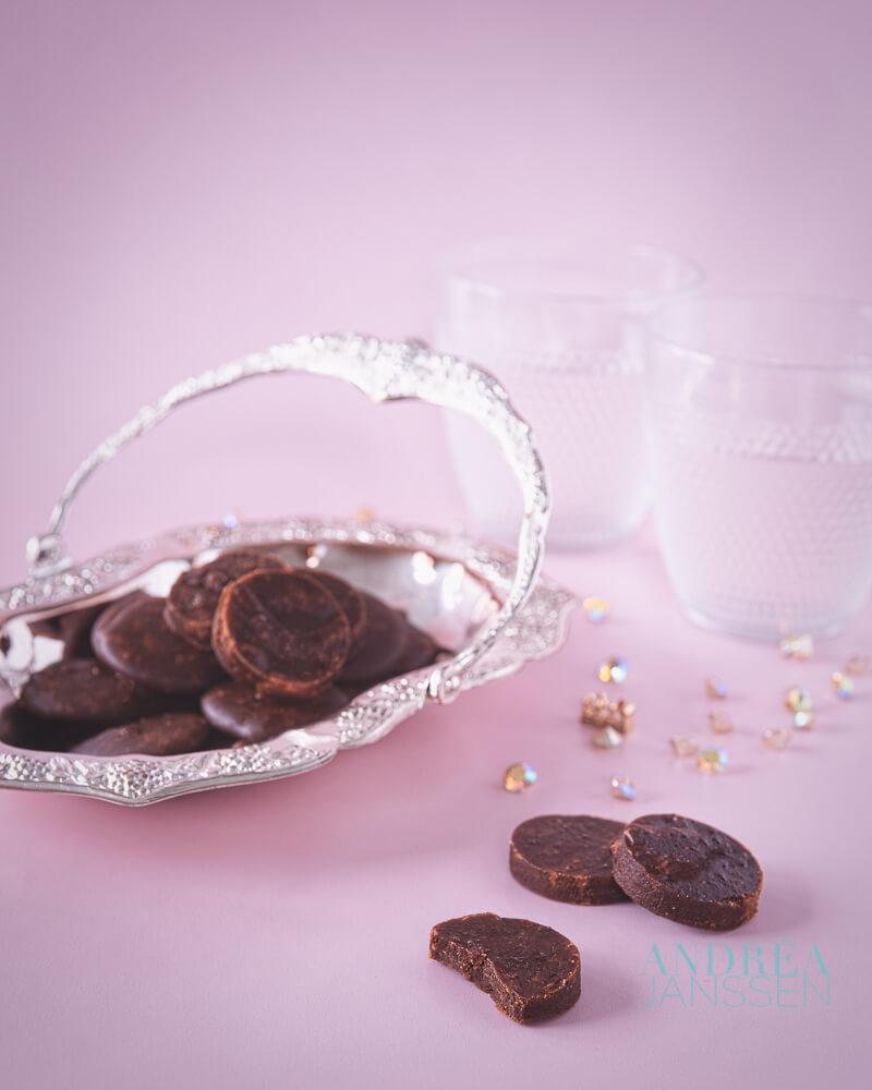 chocolade borstplaat