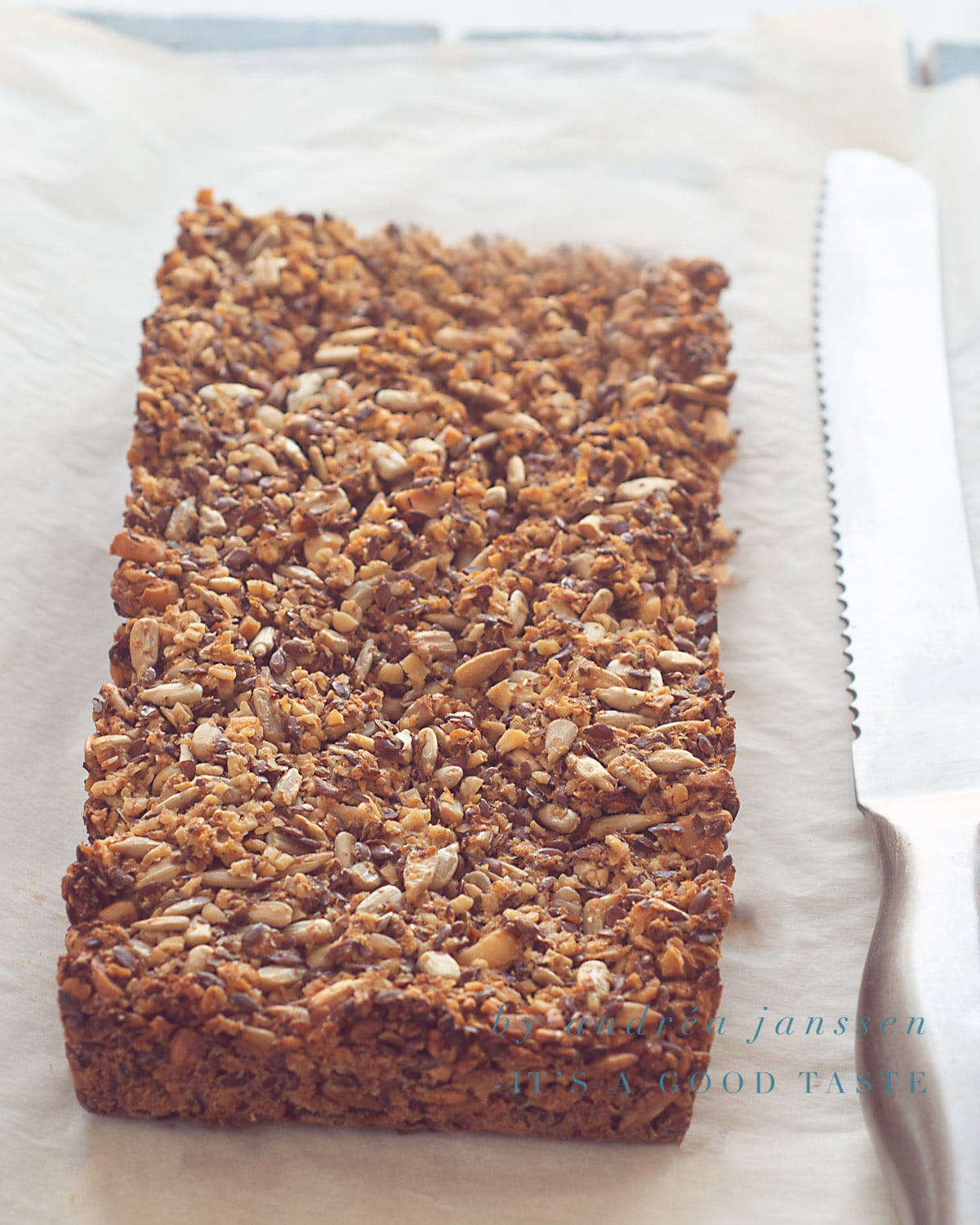 Gluten-free seeds and nut loaf