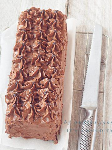 highlight chocolate truffle cake