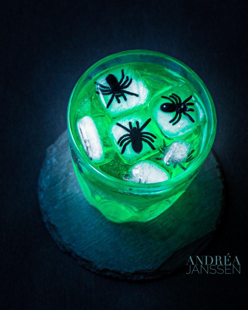 Spinnen ijsklontjes