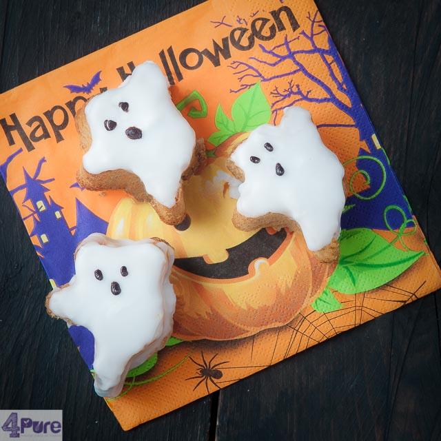 Halloween cake spookjes - Halloween ghost cakes