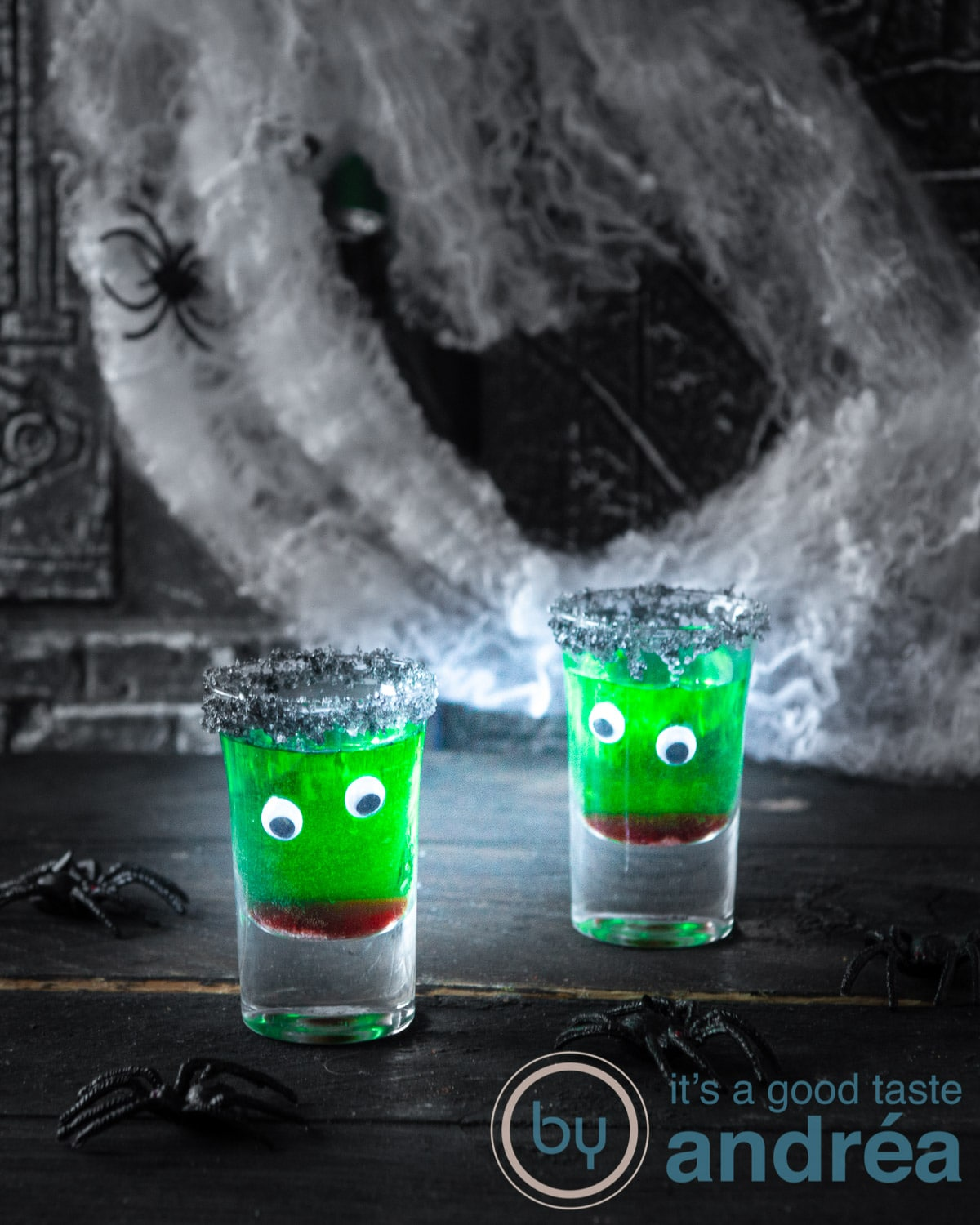 Halloween cocktail zonder alcohol - alcohol cocktail no alcohol