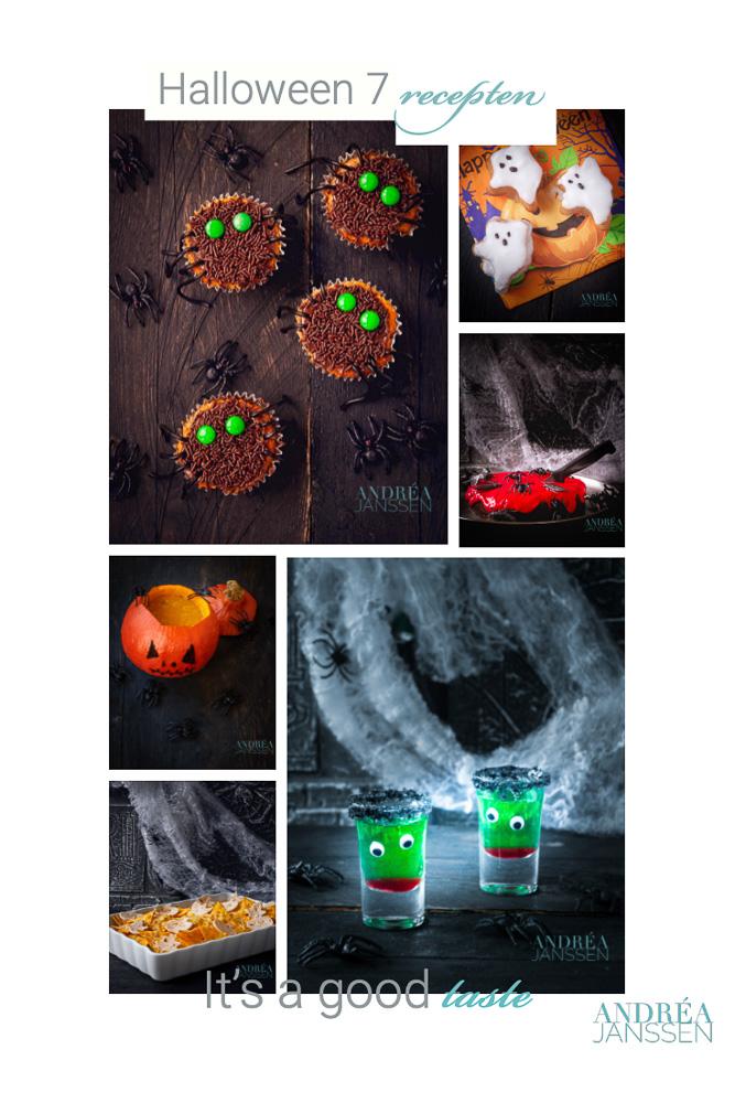 Wrap up 7 halloween recepten
