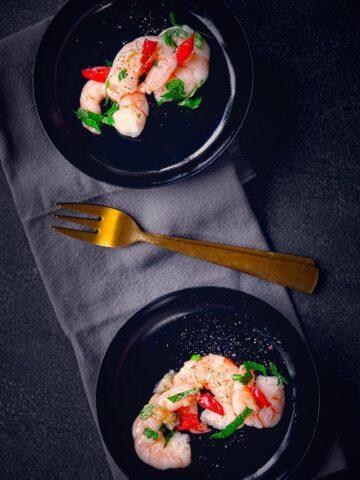 Gourmet recept garnalen pili pili-bewerkt