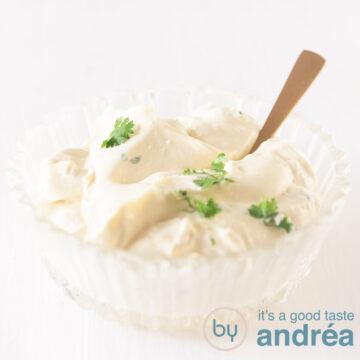 Knoflook saus - Garlic sauce-bewerkt