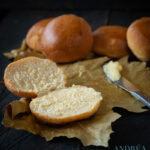 Rozemarijn pompoen broodjes