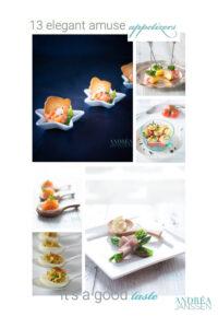13 elegant amuse appetizers