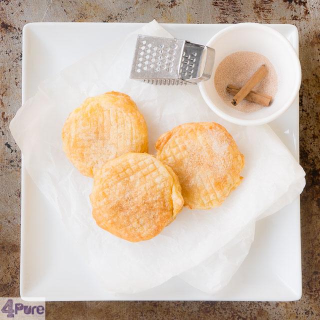 Slanke appel beignets - skinny apple fritters