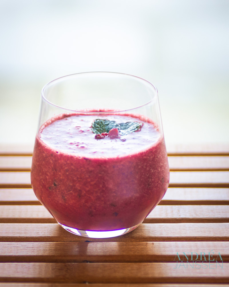 7 delicious and healthy smoothies - Andrea Janssen