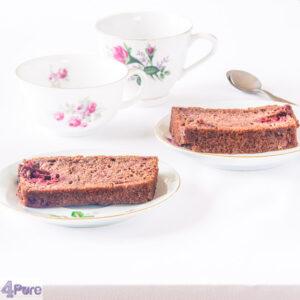 Frambozen chocolade cake - raspberry chocolate cake