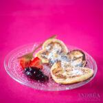 Pannenkoeken met aardbeien