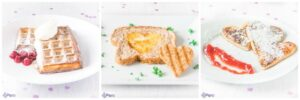 3 valentijns ontbijt ideeën - 3 valentines breakfast ideas