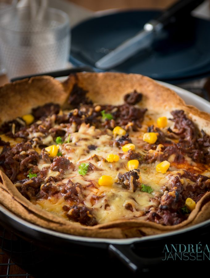 Enchilada ovenschotel