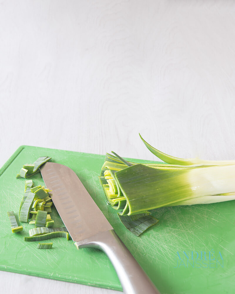 How to clean leeks simple and quickly