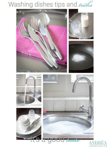 Washing dishes tips and tricks