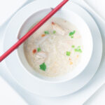 Easy Asian chicken noodle soup