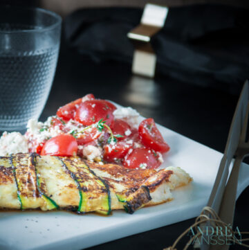Tilapia filet met tomaten salsa