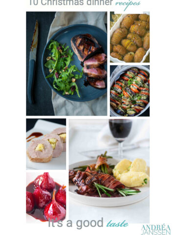 10 Christmas dinner recipes