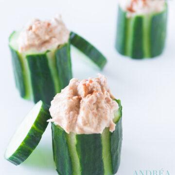 cucumber tuna appetizer