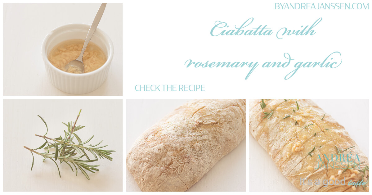 to do Ciabatta with rosemary and garlic