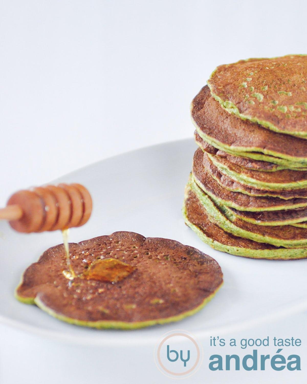 Spinazie pannenkoek - spinach pancakes-bewerkt
