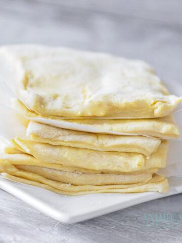 Homemade bladerdeeg, lactose vrij