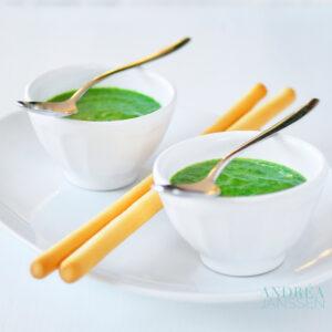 Spinazie rucola soep