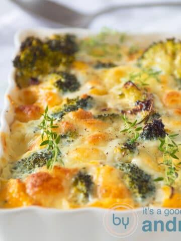 highlight Broccoli frittata with Mozzarella